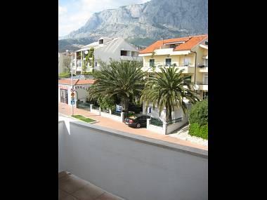 A3(4): view - 2489 A3(4) - Makarska - Makarska - rentals
