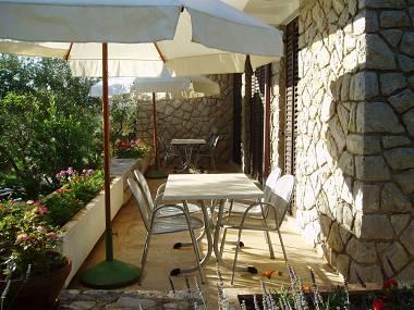 A2(2+2): common terrace - 2337  A2(2+2) - Cres - Cres - rentals