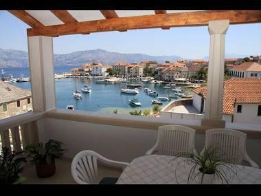 A1(6): sea view - 04301POST  A1(6) - Postira - Postira - rentals