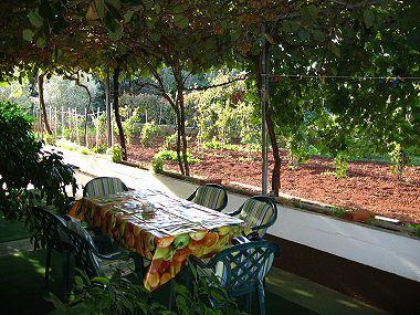 A1(6+1): garden terrace - 00119MULI A1(6+1) - Muline - Muline - rentals