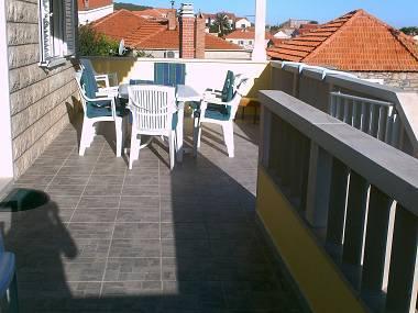 A2 gornji (5): terrace - 02201POST  A2 gornji (5) - Postira - Postira - rentals