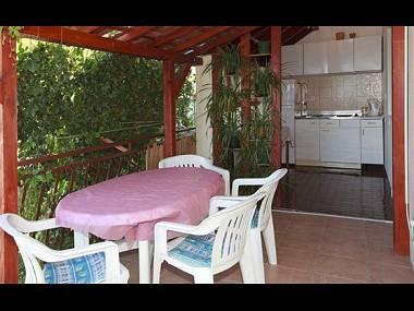 A1(5): terrace - 01613BVOD A1(5) - Baska Voda - Baska Voda - rentals