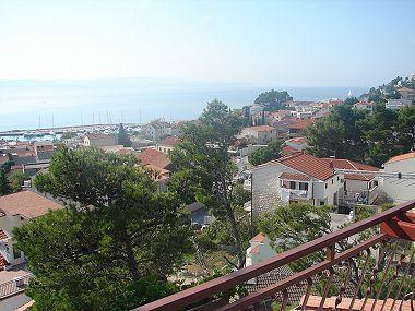 A2(4+2): terrace view - 01613BVOD A2(4+2) - Baska Voda - Baska Voda - rentals