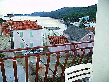 A1(4+2): terrace view - 00421BOZA A1(4+2) - Bozava - Bozava - rentals