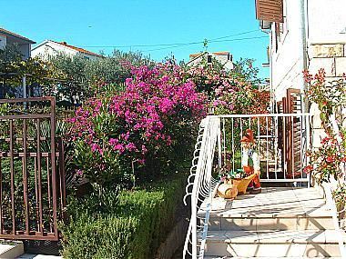 courtyard (house and surroundings) - 06401SUPE  A1(2+2) - Supetar - Supetar - rentals