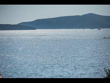 A2(2+2): terrace view - 001TROG A2(2+2) - Trogir - Trogir - rentals