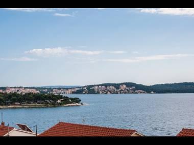 A4(2+2): terrace view - 001TROG A4(2+2) - Trogir - Trogir - rentals