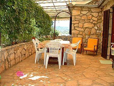 Desni(4): garden terrace - 00402NECU Desni(4) - Necujam - Necujam - rentals