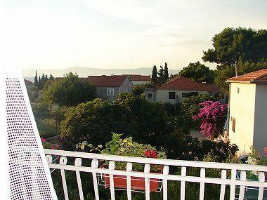Zeleni(2+1): terrace view - 003MIRC  Zeleni(2+1) - Mirca - Mirca - rentals