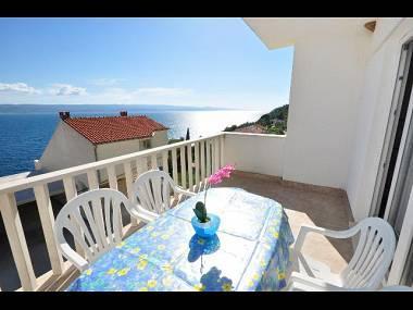 A3(2+2): sea view - 01409PISA A3(2+2) - Pisak - Pisak - rentals
