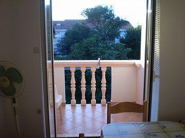 A103(2+2): balcony - 001BIBI A103(2+2) - Bibinje - Bibinje - rentals