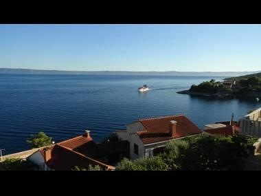 B1(4+1): terrace view - 2435 B1(4+1) - Cove Puntinak (Selca) - Cove Puntinak (Selca) - rentals