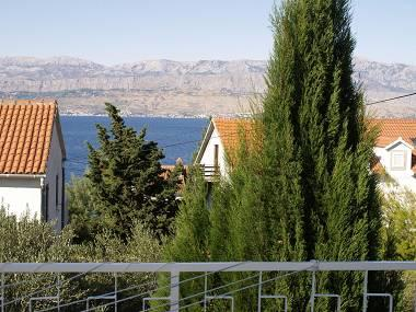 A1(6): terrace view - 1672 A1(6) - Splitska - Splitska - rentals