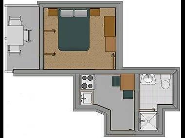 C(2): apartment - 2338  C(2) - Baska Voda - Baska Voda - rentals
