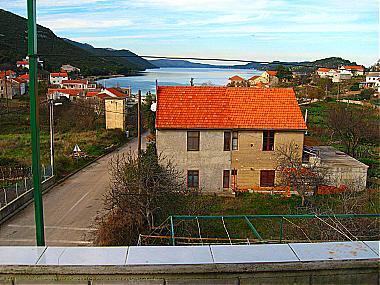 A3(4+1): terrace view - 00121LUKA  A3(4+1) - Luka - Luka - rentals