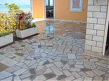 A1(2+1): terrace - 03312TROG A1(2+1) - Trogir - Trogir - rentals