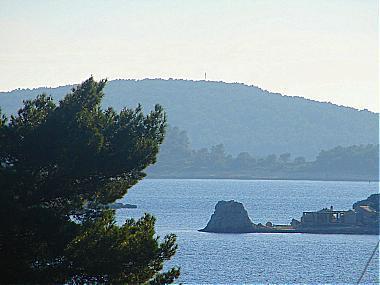 A1(2+2): terrace view - 00117OREB A1(2+2) - Orebic - Orebic - rentals
