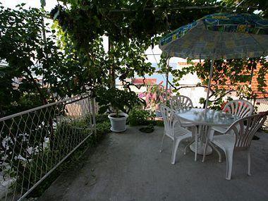 A3(4+1): terrace - 002MAST A3(4+1) - Mastrinka - Mastrinka - rentals