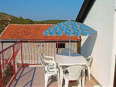 A2(4): terrace - 00104RUKA A2(4) - Cove Rukavac - Rukavac - rentals