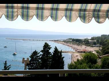 A1(7+1): terrace view - 01609OMIS A1(7+1) - Omis - Central Dalmatia - rentals