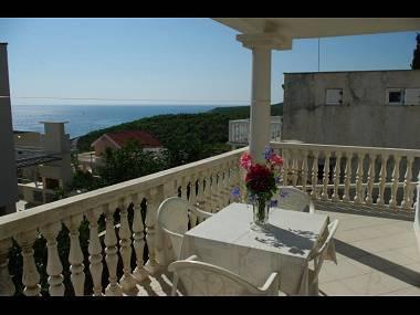 A1(4+2): terrace - 00504RUKA A1(4+2) - Cove Rukavac - Rukavac - rentals