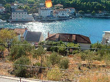 H1(5+2): terrace view - 02702STOM  H1(5+2) - Stomorska - Stomorska - rentals