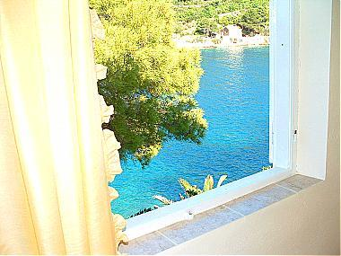 H(4): window view - 00104USTO  H(4) - Cove Stoncica (Vis) - Cove Stoncica - rentals