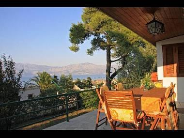 H(4+1): terrace - 00201POST H(4+1) - Postira - Postira - rentals