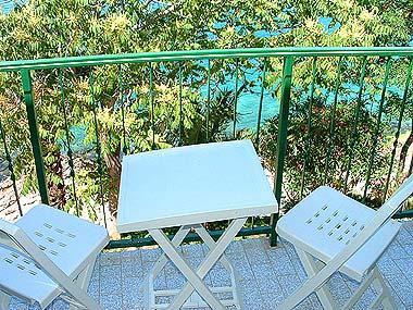 SA3(2): balcony - 00103HMIL SA3(2) - Milna (Hvar) - Milna - rentals