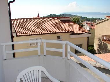 SA6(2): balcony view - 1681  SA6(2) - Makarska - Makarska - rentals