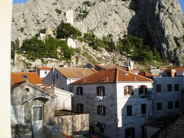 SA2(2+1): view - 00109OMIS SA2(2+1) - Omis - Central Dalmatia - rentals