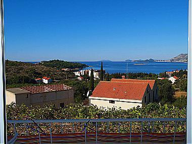 SA2(3): balcony view - 00916CAVT SA2(3) - Cavtat - Cavtat - rentals