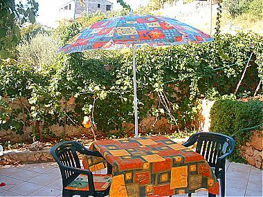 A1(2): garden terrace - 00907VINI A1(2) - Vinisce - Vinisce - rentals