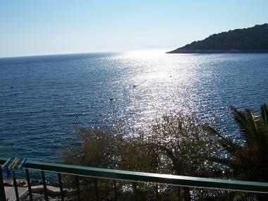 SA2(2): balcony view - 00103HMIL SA2(2) - Milna (Hvar) - Milna - rentals