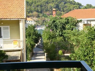 SA4 Yellow (3): terrace view - 01903JELS SA4 Yellow (3) - Jelsa - Jelsa - rentals