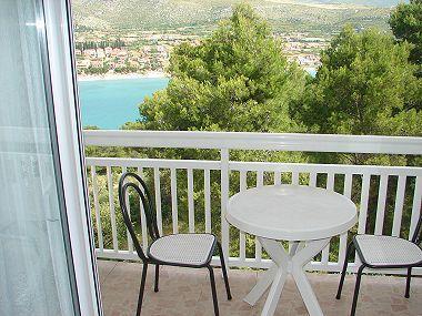SA4(2+1): covered terrace - 003TROG SA4(2+1) - Trogir - Trogir - rentals