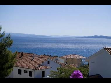 3B(2+1): terrace view - 2459 3B(2+1) - Okrug Gornji - Okrug Gornji - rentals