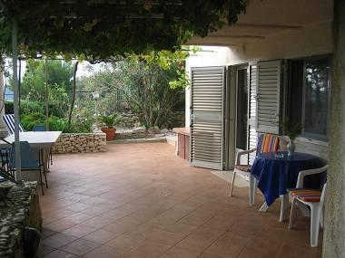 A1(2+1): garden terrace - 2146 A1(2+1) - Korcula - Korcula - rentals