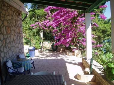 SA1(3): terrace - 00101BOBO  SA1(3) - Bobovisca - Bobovisca - rentals