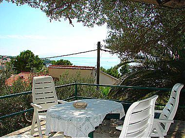 SA3(2): terrace view - 01513BVOD  SA3(2) - Baska Voda - Baska Voda - rentals