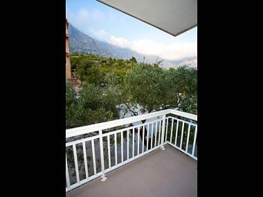 SA6(2): terrace - A01413BVOD  SA6(2) - Baska Voda - Baska Voda - rentals