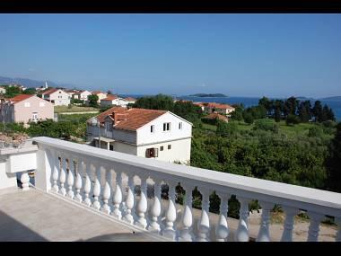 SA4(2): balcony - 01517OREB SA4(2) - Orebic - Orebic - rentals