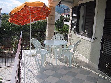 SA1(2): terrace - 01917OREB SA1(2) - Orebic - Orebic - rentals