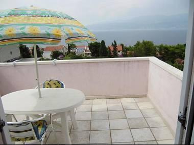 A2(2): terrace - 01301SPLI  A2(2) - Splitska - Splitska - rentals