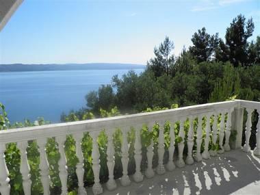SA1(2+2): terrace view - 00513BREL  SA1(2+2) - Brela - Brela - rentals