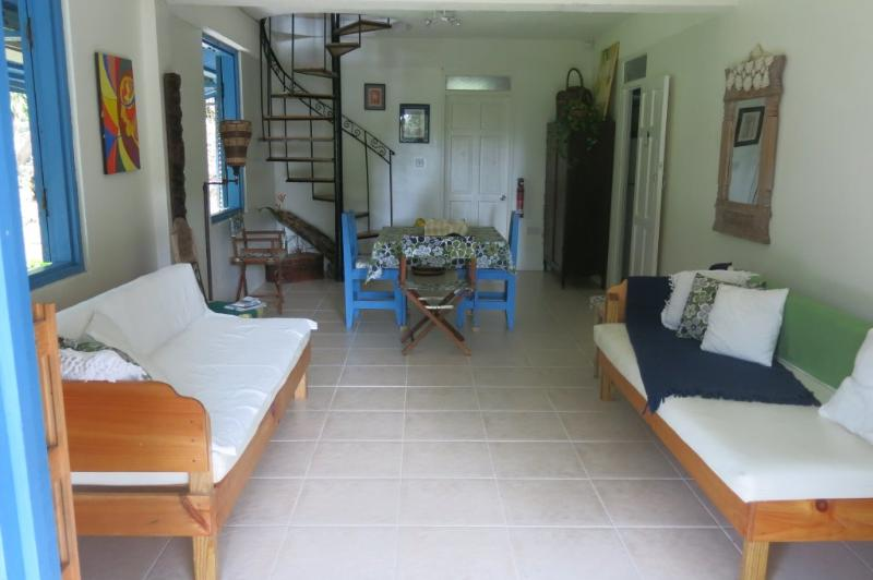 Forest Apartment dining & living area - Ensuite Double Room & Forest Apartment - Morne Trois Pitons National Park - rentals