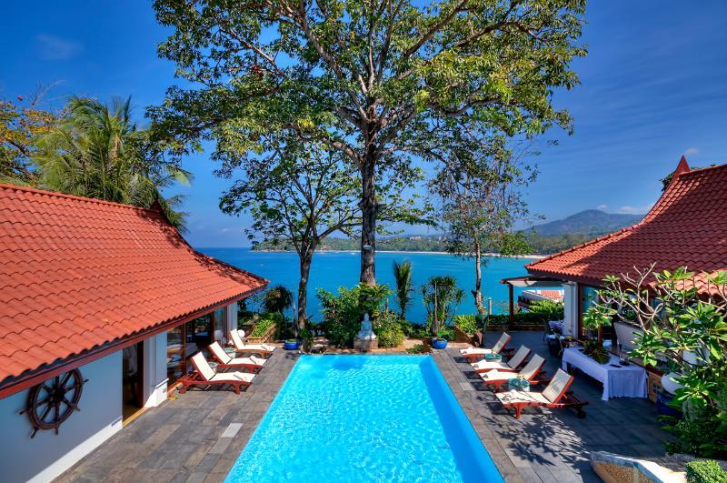 view from upper bedrooms - Baan Kata Keeree or VillaPhuket - Kata - rentals
