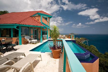 Seabright Villa - Caribbean escape features pool, Island decor & dreamy views - Image 1 - Peterborg - rentals