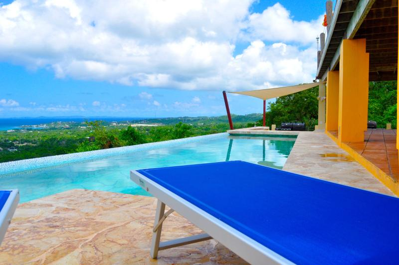 PICTURESQUE INFINITY VIEWS - Vieques vacation studio W pool Ocean vIew and Spa - Isla de Vieques - rentals