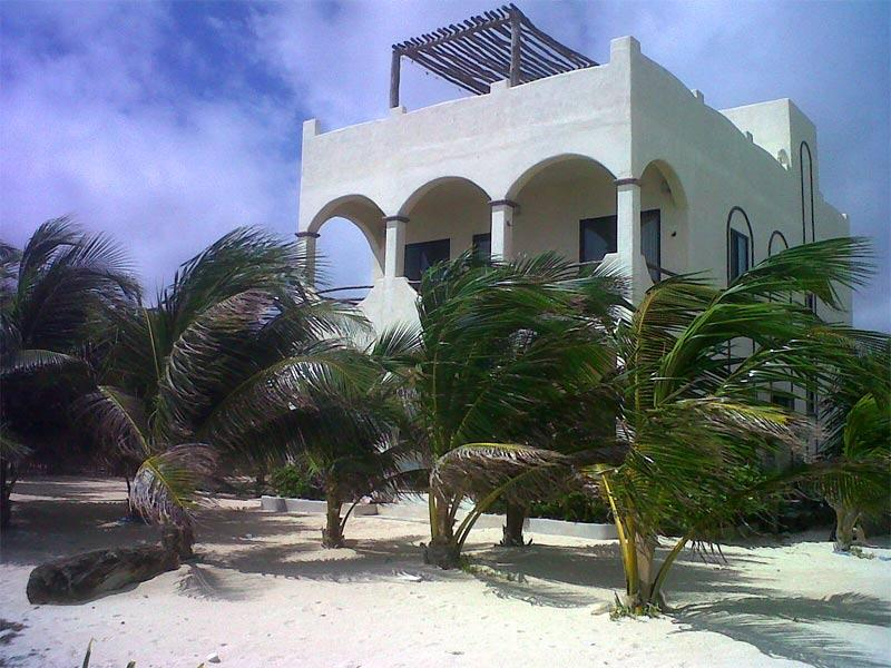 View from Beach - Casa Azucar - Majahual - rentals